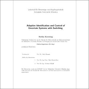 Adaptive Identification and Control of Uncertain Systems with